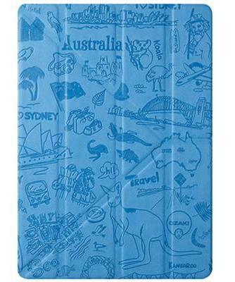 "Красивый чехол ""Сидней"" для планшета 9.7"" OZAKI O!coat-Travel iPad Air/Air 2 (Sydney) OC111SY*"