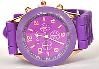 Часы geneva b фиолетовые