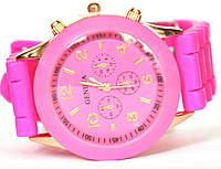 Часы geneva b малиновые
