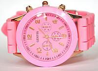 Часы geneva b розовые