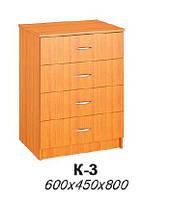 Комод К-3 (мебель для гостиниц)