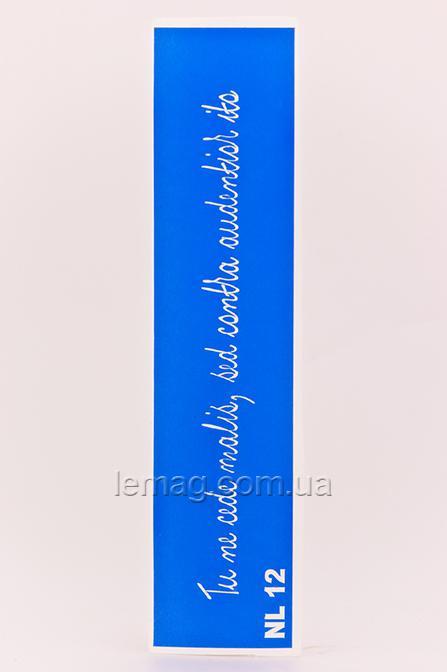 Boni Kasel Трафарет для био тату - Надпись NL12, 1 шт