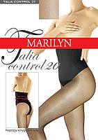 Утягивающие Колготки с высоким силиконовым поясом Marylin Talia Control 20 ден
