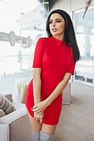 """Стильное молодежное платье мини """" Джерси """" Dress Code , фото 1"""