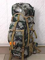 Большой камуфляжный каркасный рюкзак для охоты и рыбалки THE NORTH FACE B 45 tp