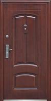 Входные двери ТР-С12 покрытие автолак медь, фото 1