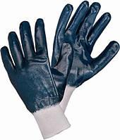 Перчатки покрытые нитрилом, трикотажный манжет