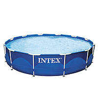 Каркасный бассейн Intex 28210 (56994) Metal Frame Pool (366x76 см) HN