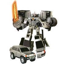 Робот-трансформер — BLACKBOT (Toyota Land Cruiser, 1:18) (рус. упак. ). Арт.50060R