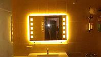 Дзеркало з підсвіткою на світлодіодах, фото 1