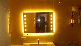 Дзеркало з підсвіткою на світлодіодах