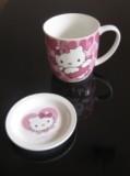 Чашка Китти с блюдцем