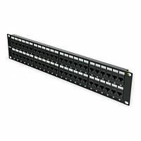 """Патч-панель 19 """"48xRJ-45 UTP, кат. 6, 2U, dual type"""