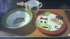 Набор детской посуды 3 пр (Машинки,Мишки)
