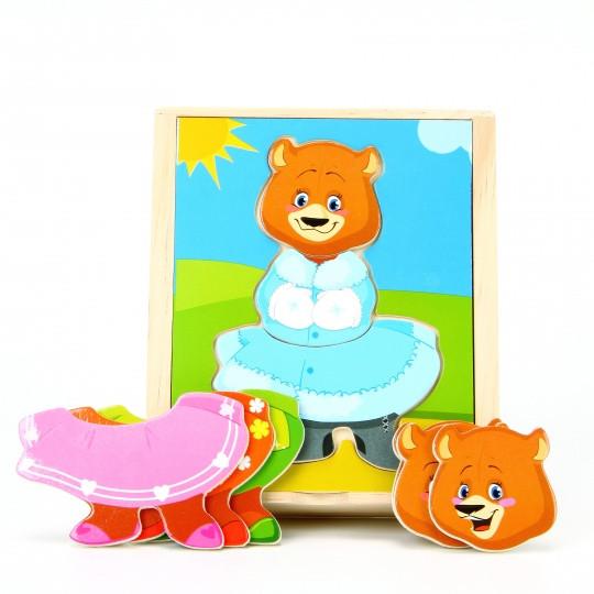 Вкладыши МДИ «Медвежонок Катя» (Д181а)