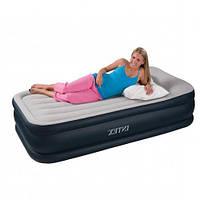 Надувная матраc - кровать Intex с эл. насосом 202х102х48 см (67732)