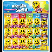 """Ароматизатор Areon """"Smile"""" Mix 15"""