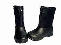 """Женские дутики черные """"TS Shoes"""""""