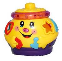 """Развивающая игрушка Joy toy  """"Горшочек-логика музыкальный"""" 0915"""