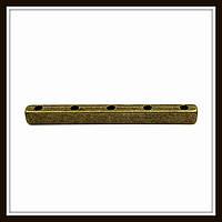 Разделитель на 5 нитей, бронза (3,9*0,3*0,3) 8 шт. в уп.