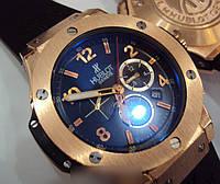 """Мужские часы Hublot """"BIG BANG CHRONOGRAPH"""" GOLD, часы Хаблот"""