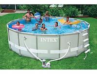 Бассейн каркасный Intex 488х122 см (28322) (54922)