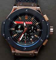 Механические мужские часы hublot luna rossa, часы хаблот  (реплика)