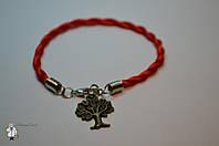 Браслет из красной нити «Дерево жизни»