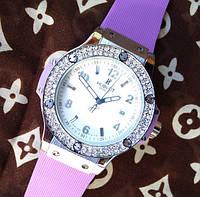 Женские часы Hublot Big Bang King stones, копии часов Хаблот