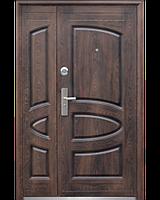 Входные двери ТР-С127+мин.вата покрытие лак тефлон 1200 мм