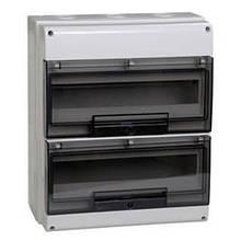 КМПн-24 IP66 корпус пластиковый навесной для 24 модульных автомат. выкл.