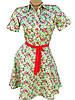 Яркие хлопковые платья на лето 42-48 (в расцветках), фото 3