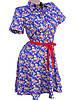 Яркие хлопковые платья на лето 42-48 (в расцветках), фото 4
