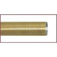Труба к кованым карнизам гладкая ø25мм цвет антик длина 3м