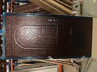 Двери металлические МК-016L 2050x960x40 мм левые