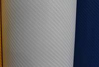 Карбоновая пленка 4D белая