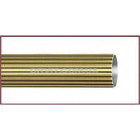 Труба к кованым карнизам рифленая ø25мм цвет антик длина 2м