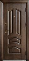 Входные двери ТР-307 покрытие структурированное травление  , фото 1