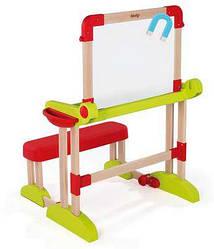 Дитяча Парта з Двосторонньою Дошкою для малювання Smoby 28112