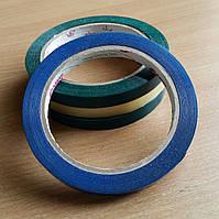 Скотч лента для клипсаторов 9 х 66 х 45 мкм зеленый, красный, желтый, синий