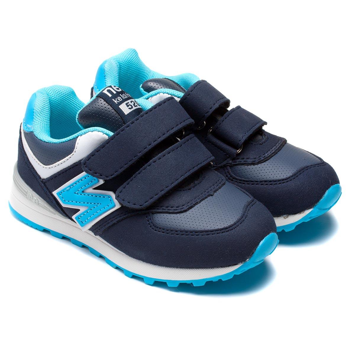 Детские кроссовки Солнце, синие, размер 26-31