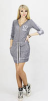 Женское платье  Moschino двунитка на молнии