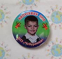 Значок Выпускник группы Чебурашка с фотографией