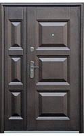 Входные двери ТР-С143АВ+мин.вата покрытие молоток 1200 мм