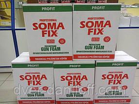 Профессиональная монтажная пена SOMA FIX profit 65 lt, 800 мл, фото 3