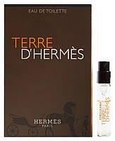 Terre d'Hermes- Туалетная вода (Оригинал) 2ml (пробник)