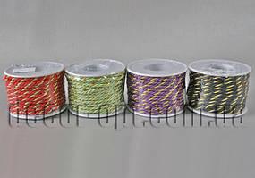 Шнур декоративный двухцветный 3мм/10ярд