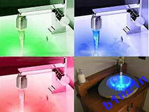 Насадка подсветка воды. Температурная, фото 3