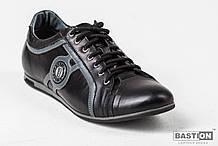 Мужские кожаные кроссовки   40,41,44 р  арт 019