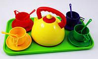 Детская посудка с подносом 14 эл, фото 1